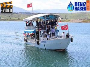 Kahramanmaraş'ta tekne turları başladı
