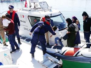 Çanakkale'de 143 kaçak göçmen yakalandı