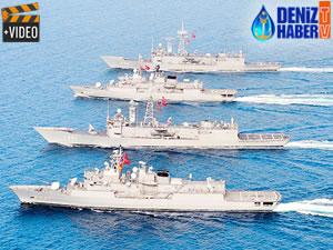 Türk Donanması Akdeniz'de teyakkuzda