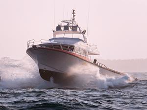 Dongara, yüksek hızlı tekneyi Avustralya'ya teslim etti