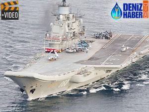 Amiral Kuznetsov'a yeni silahlarla donatılacak