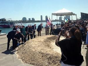Miami Limanı'nda yeni kruvaziyer terminali inşasının temeli atıldı