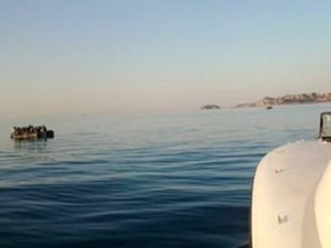 Aydın'da 32 kaçak göçmeni Sahil Güvenlik uçağı tespit etti