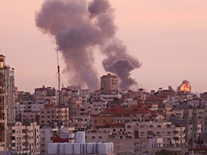 Hamas Deniz Kuvvetleri'ne ait 6 noktaya saldırı düzenlendi