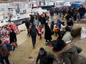 Çanakkale'de 160 kaçak göçmen yakalandı