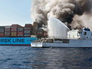 'M/V MAERSK HONAM' Jebel Ali Limanı'na demirledi