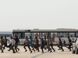 Sığınmacılar Patras Limanı'ndan Avrupa'ya ulaşmaya çalışıyor