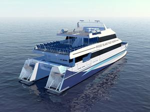Incat Crowther, Rhode Island için feribot tasarladı