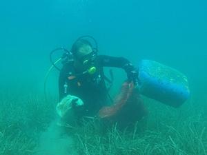 Gölköy'de deniz dibi temizliği gerçekleştirildi