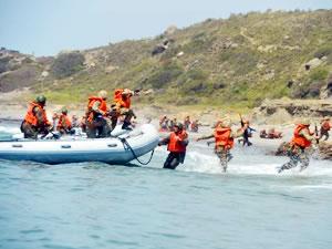 Efes 2018 Tatbikatı'nın bot eğitimleri nefes kesti