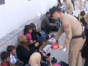 Hatay açıklarında 46 kaçak göçmen yakalandı
