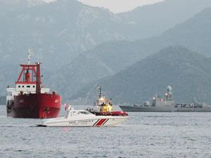 M/V KARMATE'nin Yunan gemisine teması iddiası!