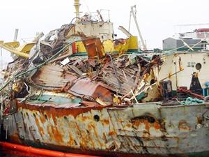 Hurda gemiler, üç ayda 60 milyon dolar kazandırdı