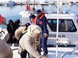 İzmir'de son iki günde 226 kaçak göçmen yakalandı