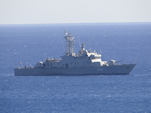 M/V KARMATE ile çatışan Armatolos'un komutanı görevden alındı
