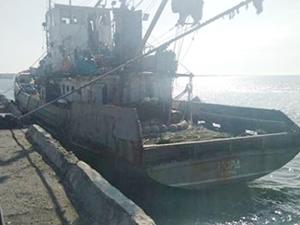 FSB, Ukrayna bandıralı balıkçı teknesini gözaltına aldı