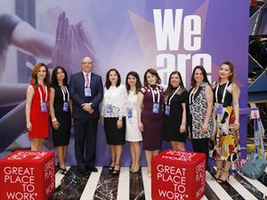 SOCAR Türkiye'ye 'En İyi İşveren Ödülü' verildi