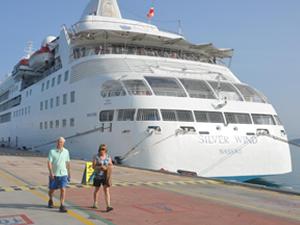 M/S Silver Wind, Ege Port Limanı'na yanaştı