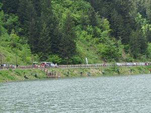 Uzungöl'de Amatör Olta Balıkçılığı Yarışması düzenlendi