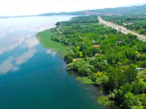 Sapanca Gölü'nde doluluk oranı maksimum seviyeye ulaştı