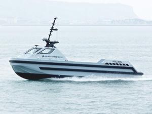Kraliyet Donanması, otonom botu teslim aldı