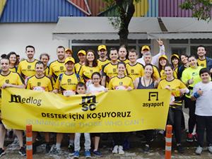 MSC çalışanları, Wings For Life Dünya Koşusu'na katıldı
