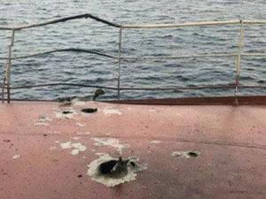 Türk bayraklı M/V INCE INEBOLU'YA Yemen'de füze saldırısı!