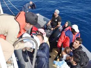 İzmir'de 170 kaçak göçmen yakalandı