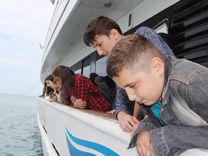 TURMEPA, Samsun'da 105 öğrenciyi denizle buluşturdu
