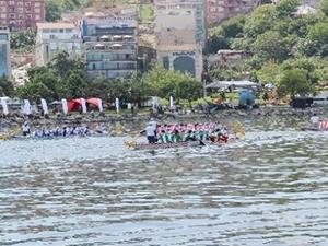 Dragon Boat Festivali'nde 850 sporcu mücadele etti
