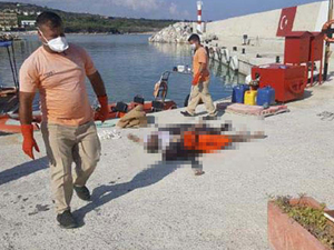 Kuzey Kıbrıs'ta sahile dört göçmen cesedi vurdu