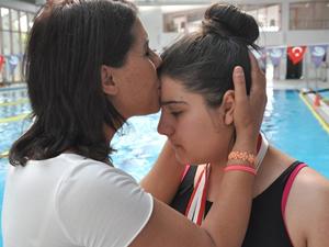 Okullararası Özel Sporcular Türkiye Yüzme Şampiyonası'nda 3 altın madalya kazandı