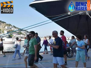 M/S Celestyal Olympia, Kuşadası Limanı'na yanaştı