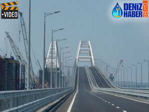Rusya ile Kırım arasında inşa edilen Kerç Köprüsü açıldı