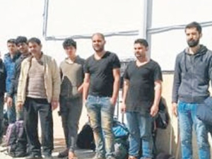 Antalya açıklarında 50 kaçak göçmen kurtarıldı