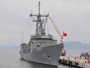 Beyaz Fırtına Tatbikatı'na katılan gemiler ziyarete açıldı