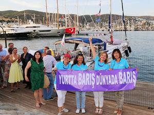 'Doğu Akdeniz - Kıbrıs Barış Seyri' için yolculuk başladı