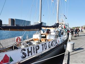 'Ship To Gaza' tekneleri Danimarka'ya ulaştı