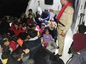 İzmir ve Aydın'da 364 kaçak göçmen yakalandı