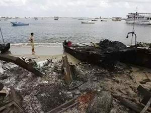 İsrail, Gazze Şeridi'ndeki iki tekneyi vurdu