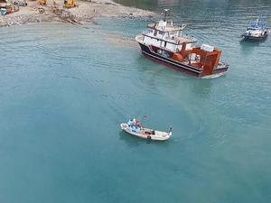 Başaran Denizcilik'e inşa edilen tekne suya indirildi