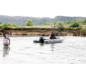 Manavgat Irmağı'na düşen Samet Durmuş Vurkun bulunamadı