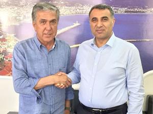 İMEAK DTO Antalya Şubesi'nden Mehmet Sayhan'a ziyaret