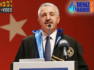 Ahmet Arslan'a Fahri Doktora unvanı verildi