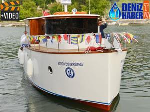 Bartın'da üniversite öğrencileri tekne imal etti