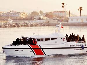 Sahil Güvenlik son 24 saatte 245 göçmen yakaladı