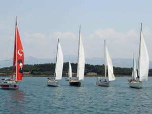 19. Tanju Okan Yelkenli Yat Yarışları başladı