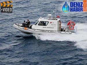 Ayvalık'ta balıkçı teknesi battı, 4 kişi kayıp!