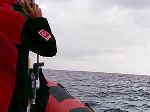 Dört kayıp balıkçıyı arama çalışmaları sürüyor