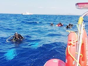 Ayvalık'ta batan teknedeki bir kişinin daha cesedine ulaşıldı